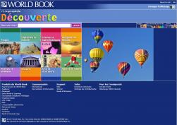 World Book French screenshot